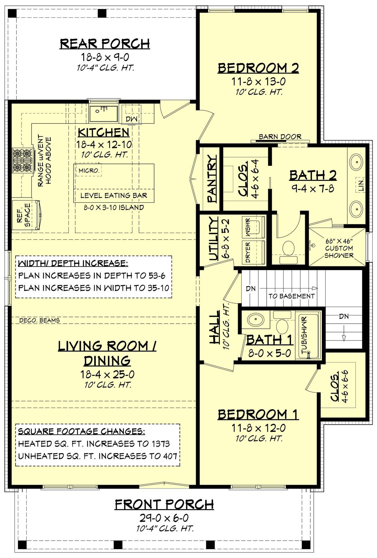 Carolina House Plan  House Plan Zone