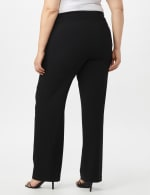 Secret Agent Tummy Control Pull On Pants - Average Length - Black - Back