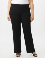 Secret Agent Tummy Control Pull On Pants - Average Length - Black - Front