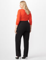 *PRE-SALE* Secret Agent Trouser with Cateye Pocket and Zipper -  - Back