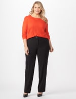 *PRE-SALE* Secret Agent Trouser with Cateye Pocket and Zipper -  - Front