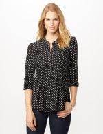 Dotted Popover - Black/White - Front