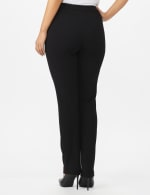 Secret Agent Pull On Pant with Pockets - Short Length - Black - Back