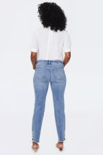 PRE ORDER NYDJ Sheri Ankle Jeans with Laced Slits - Coheed - Back