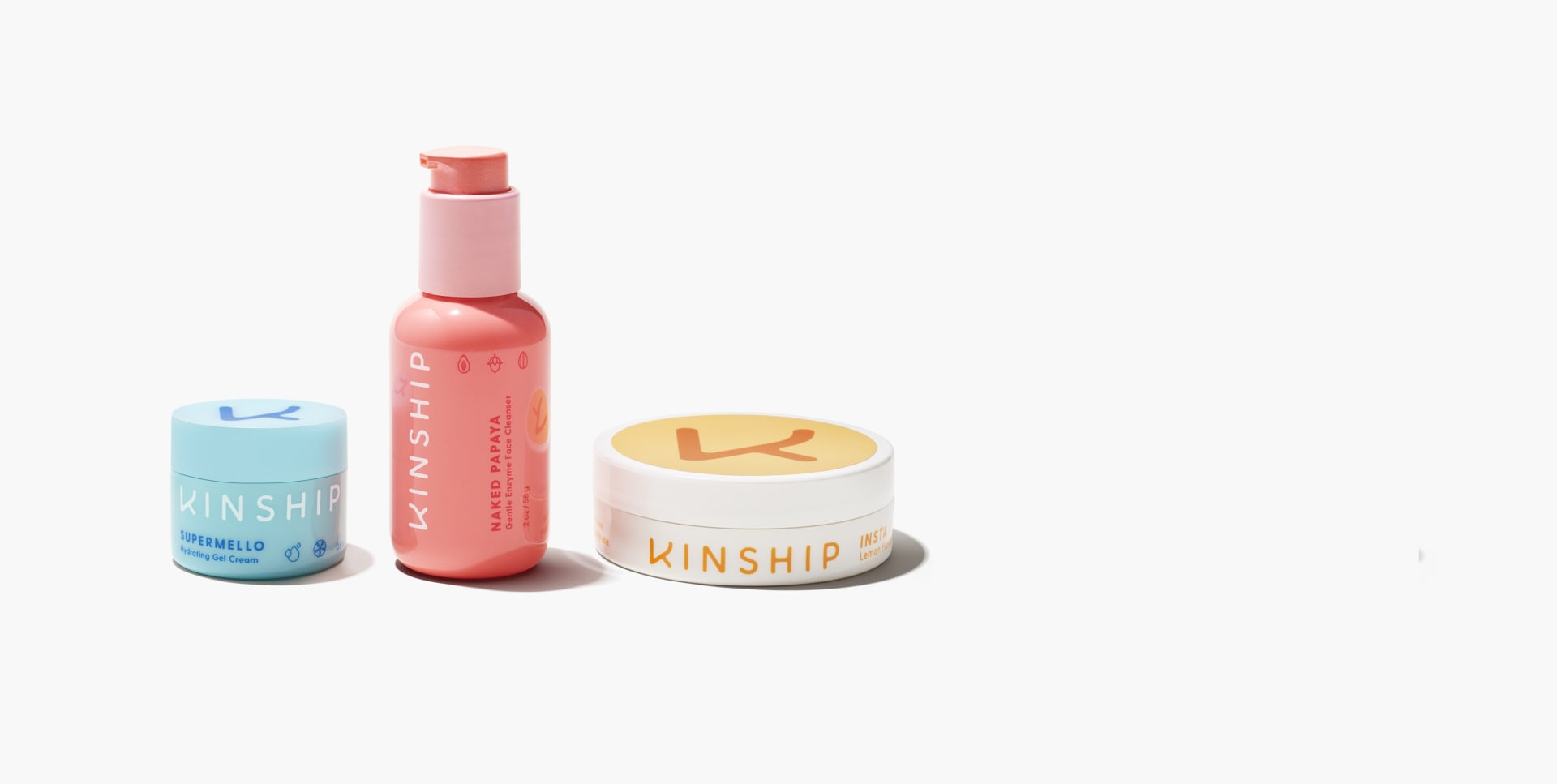 Kinship Try-Me Trio Mini Skincare Discovery Set