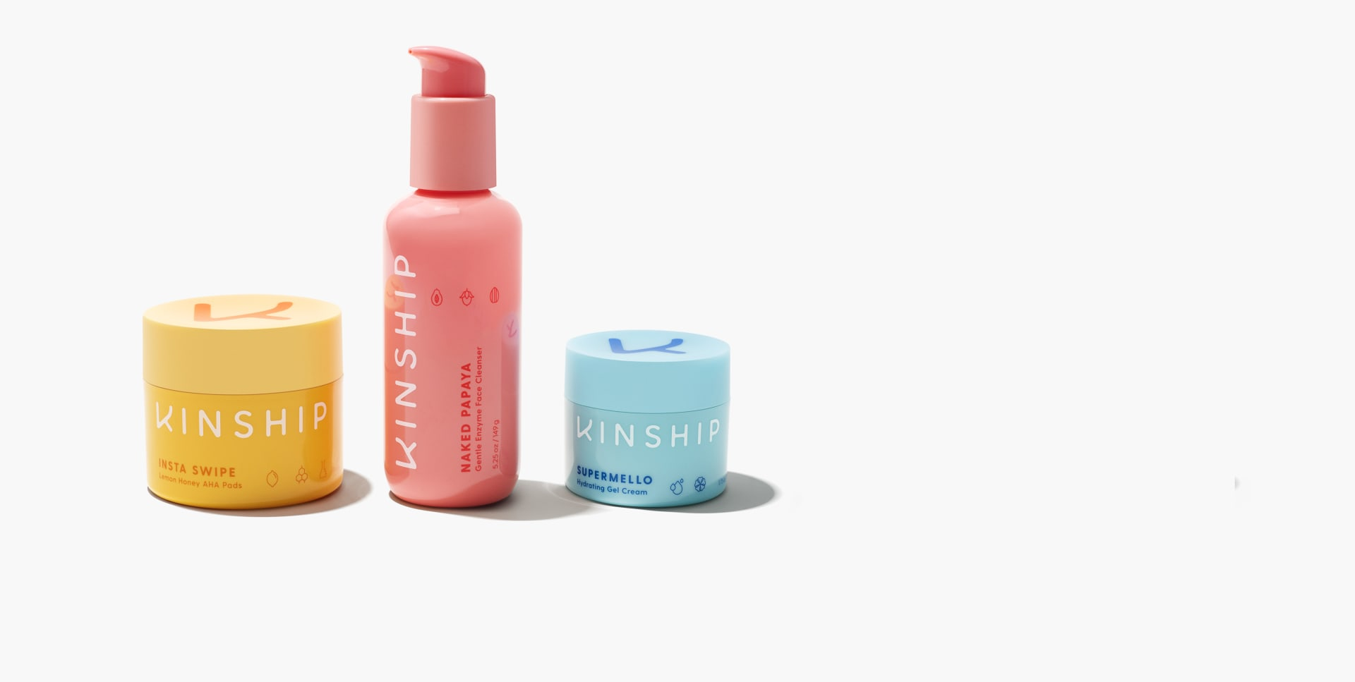 Kinship The Besties 3-Piece Skincare Set