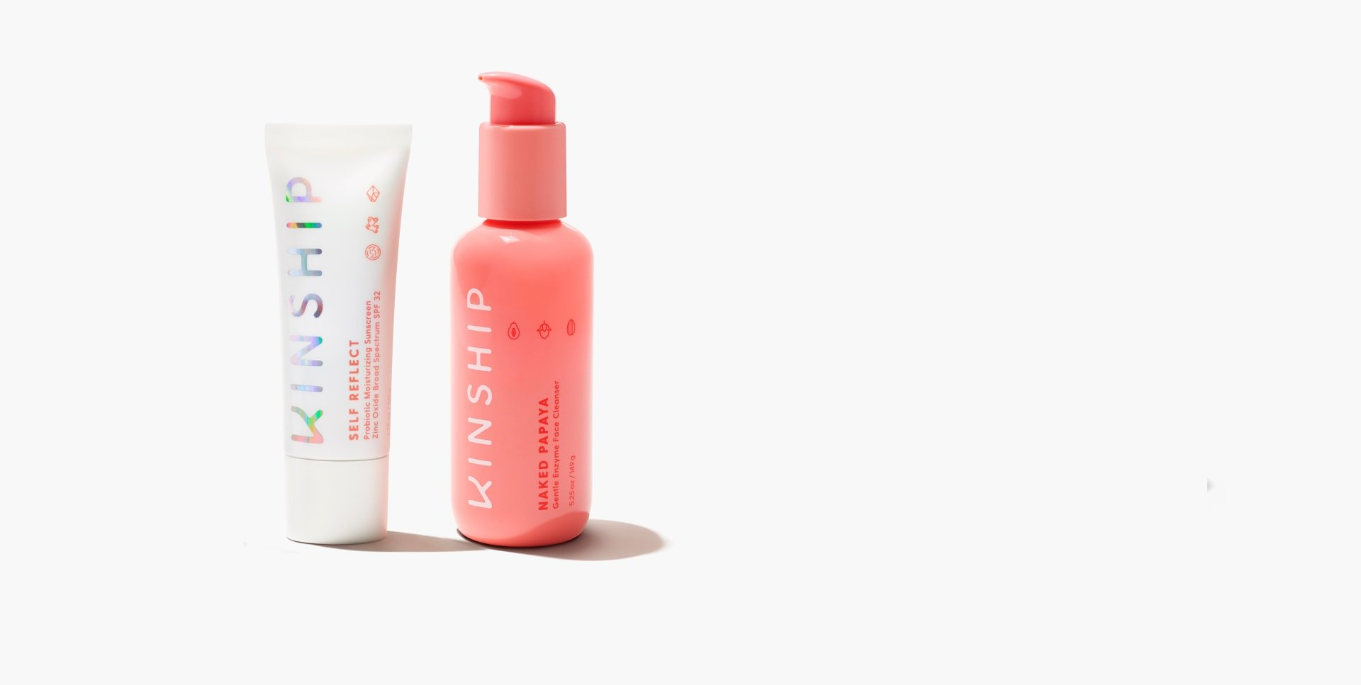 The Bright Side Cleanser + SPF Duo