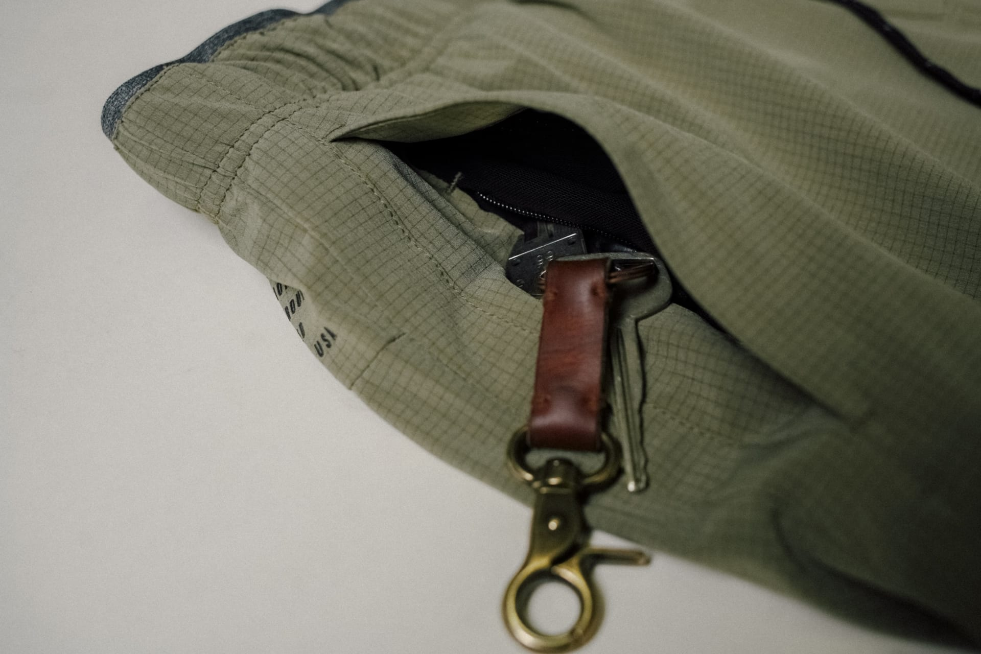 YKK Zipper Pocket