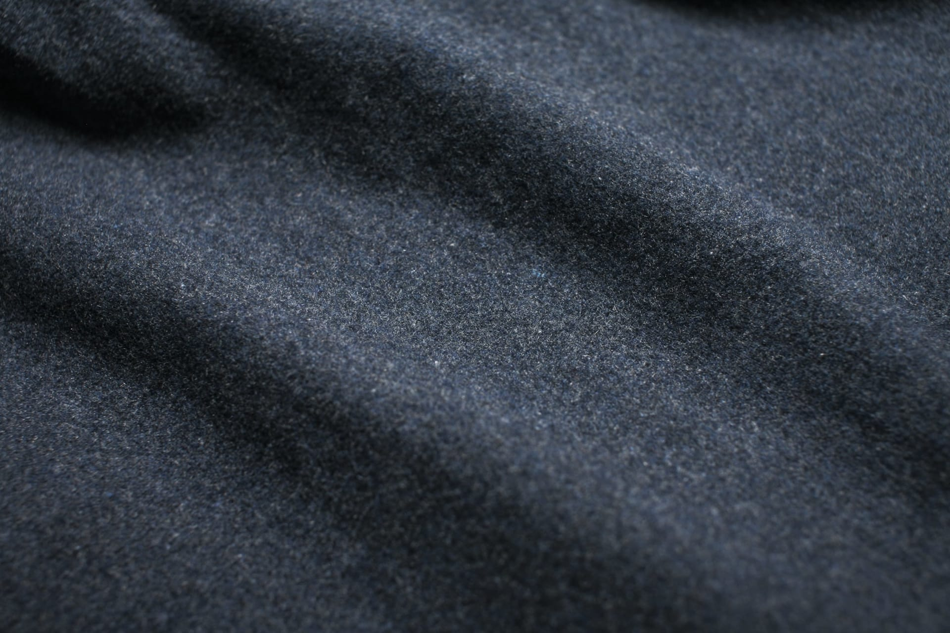 Recycled Wool and Polyester Fibers
