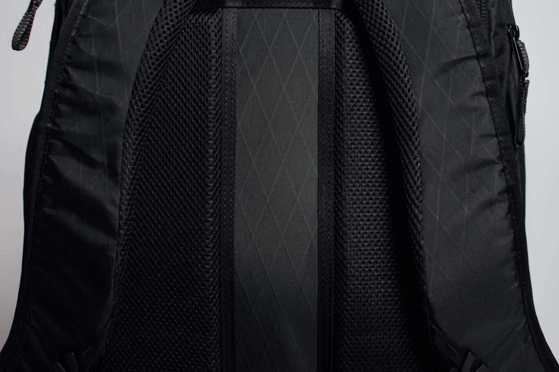 Ergonomic Padded Back Panel With Channel