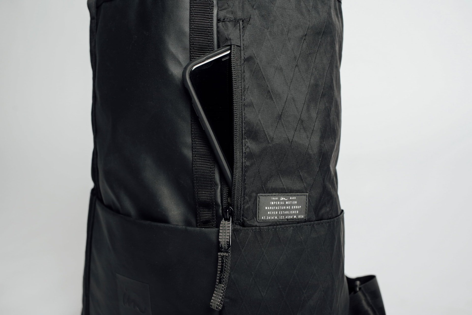 Exterior Quick Access Pocket