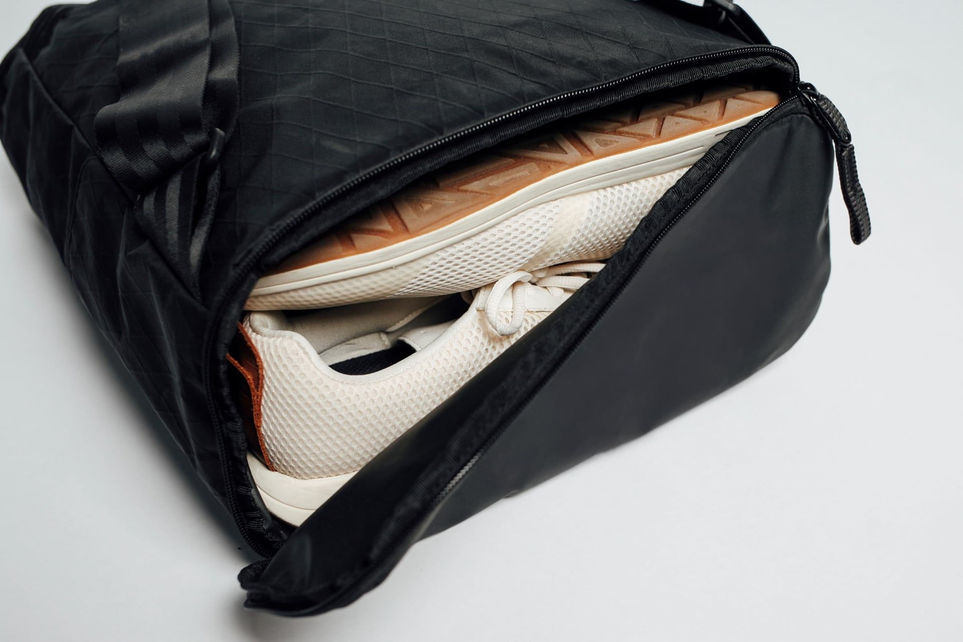 Water Resistant Shoe / Dirty Clothes Compartment