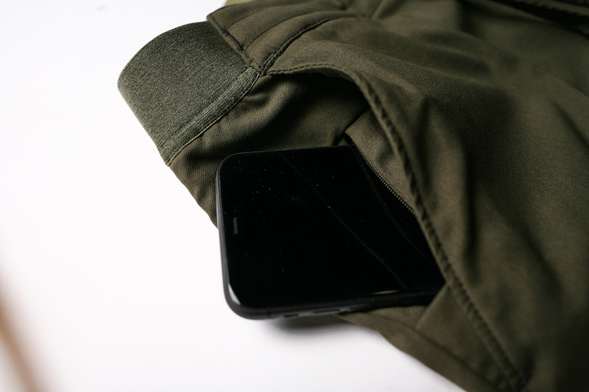 YKK Secure Hidden Front Pocket