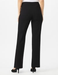 Secret Agent Tummy Control Pants - Average Length - Black - Back