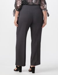 Secret Agent Tummy Control Pull On Pants - Average Length - grey - Back