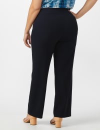 Secret Agent Tummy Control Pull On Pants - Average Length - navy - Back