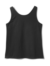 Studded Knit Tank - Black - Back