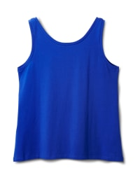 Studded Knit Tank - Royal Blue - Back