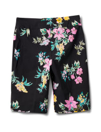 Pull On Skimmer Short - Black/Pink - Back