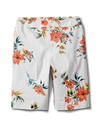 Pull On Skimmer Short - Coral / Blue - Back