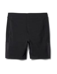 Pima Cotton Bike Short - Misses - Black - Back