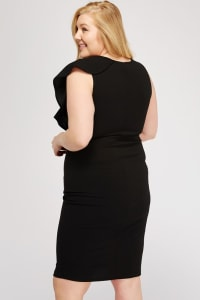 Kill'em With Ruffles - Black - Back