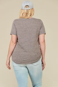 Rockstar Top - Dark Grey - Back