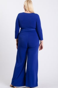 Last-Minute Jumpsuit - Royal Blue - Back