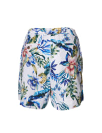 Pre-Order Caribbean Joe® Tropical Pull-On Shorts - Blue - Back