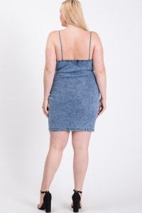 New Favorite Denim Dress - Denim - Back