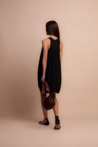 Pre-Order Nicky Dress - Black - Back