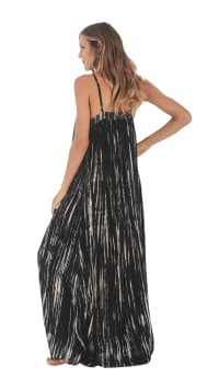 Riva Dress - Fog Black - Back