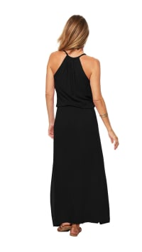 Pre-Order Sunstar Dress - Black - Back