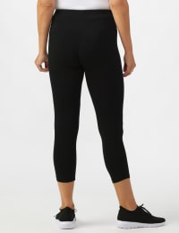 Tummy Control Capri - Misses - Black - Back