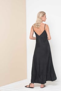 Pre-Order Curve Alanis Dress - Black - Back