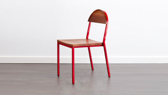 Suzy Stackable Dining Chair Round