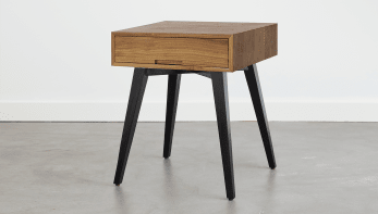 Vinny Bedside Table High Square