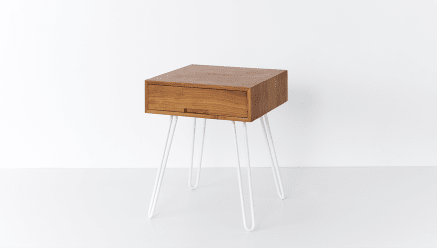 Willy Bedside Table High Square