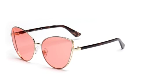 Women Cat-Eye Sunglasses - Pink - Front