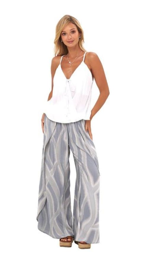 Maile Pants - Ebb grey - Front