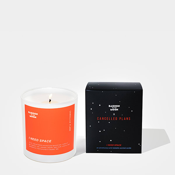 Cancelled Plans x BTTM Candle alternative image