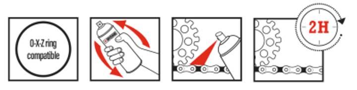 Recomendaciones de uso X-TREM CHAIN ROAD ipone
