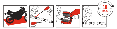 Instructions chain cleaner nettoyant chaîne ipone