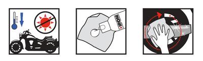 Instructions chrom'alu nettoyant métaux ipone