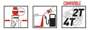 Instructions fuel stabilizer stabilisateur d'essence ipone