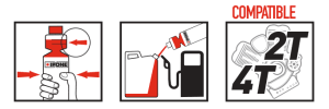 Directions for use fuel stabilizer ipone