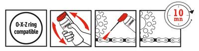 Instructions X-TREM CHAIN OFF-ROAD graisse de chaîne tout-terrain ipone