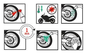 Instructions Wheel Cleaner nettoyant dégraissant jantes ipone