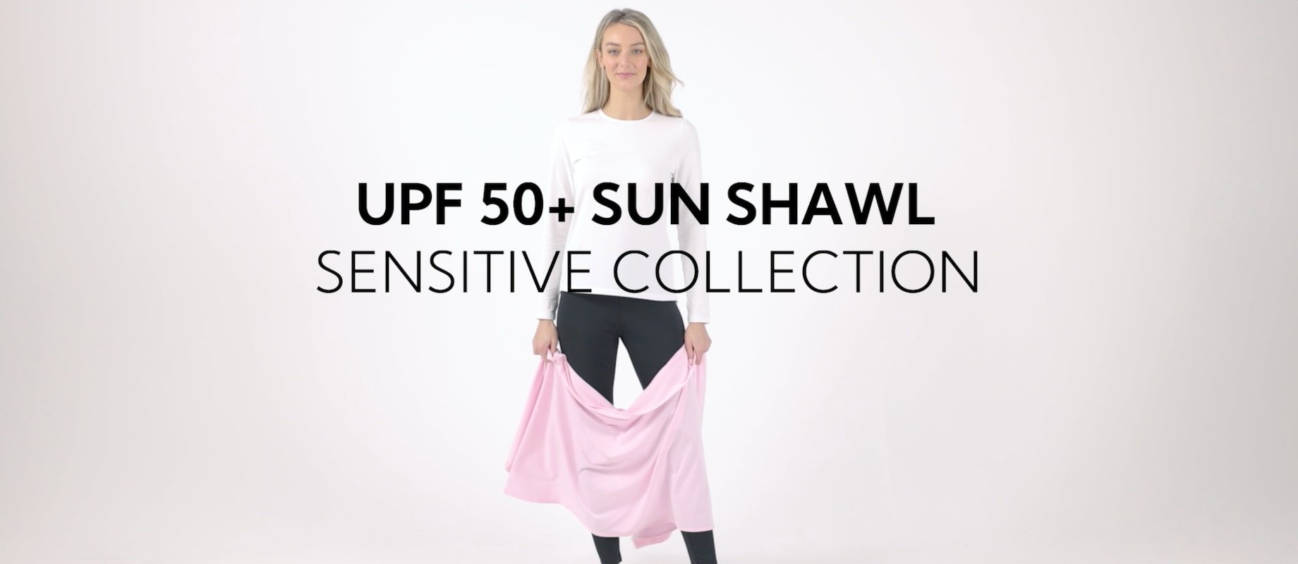 UPF50+ Sun Protective Shawl For Women | Max UV Protection