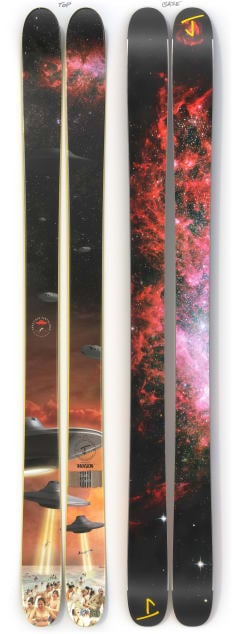 """The Allplay """"INVASION"""" Limited Edition Ski"""